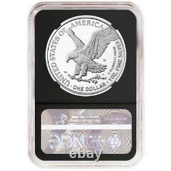 Presale 2021-W Proof $1 Type 2 American Silver Eagle NGC PF70UC FDI ALS Label