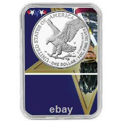 Presale 2021-W Proof $1 Type 2 American Silver Eagle NGC PF70UC FDI West Point