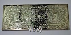 RARE 16 OZ. 999 Silver $1000 Washington PROOF Bar with COA & mint box