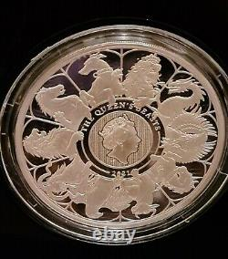 The Queen's Beasts 2021 UK 5oz Silver Proof Completer Coin Limited Edition 300