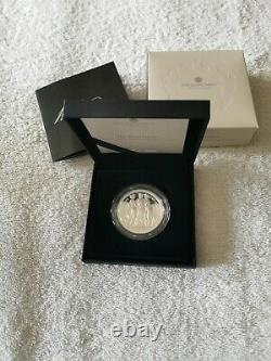 The Three Graces 2020 uk two-ounce silver proof coin