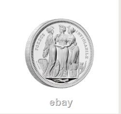 Three Graces 2020 UK Five-Ounce Silver Proof Coin Pre ordered. Mint Sold Out