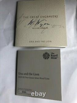 Una and the lion coin 2019 silver proof