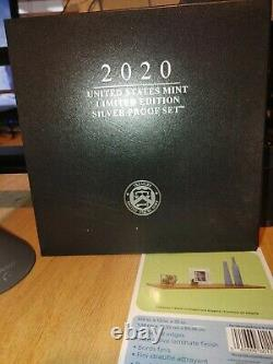 United States Mint Limited Edition 2020 Silver Proof Set. Almost Gone Get It Now